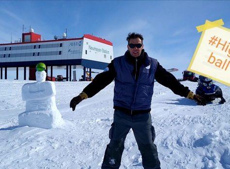 31560 km: Grüße aus Antarctica von Neumayer III