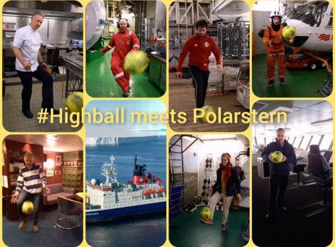 89.200 km: Eisbrecher FS Polarstern eilt zur Aufprallstelle …