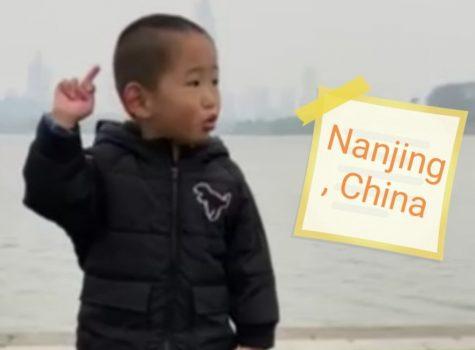 104.099 km: Xiaochen in Nanjing, China ist dabei …